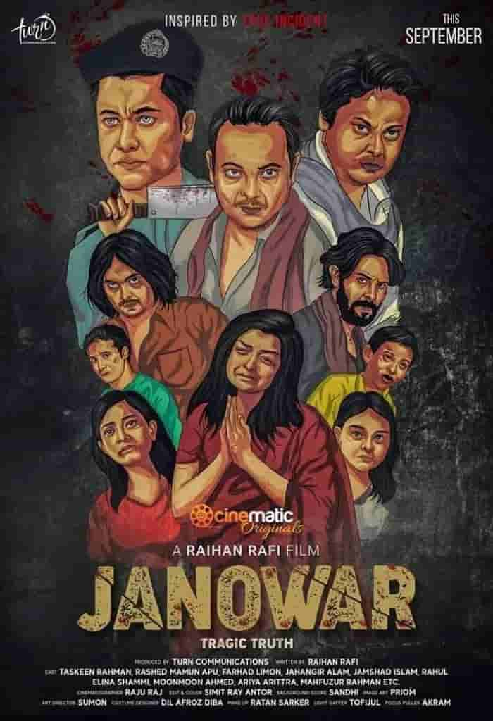 Janowar 2021 Bangla Full Movie 720p HDRip 800MB Download