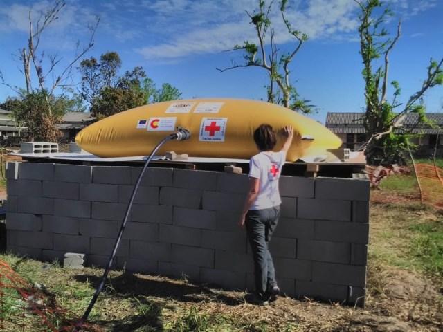 190.000 litros de agua segura a las personas afectadas por el ciclón Idai