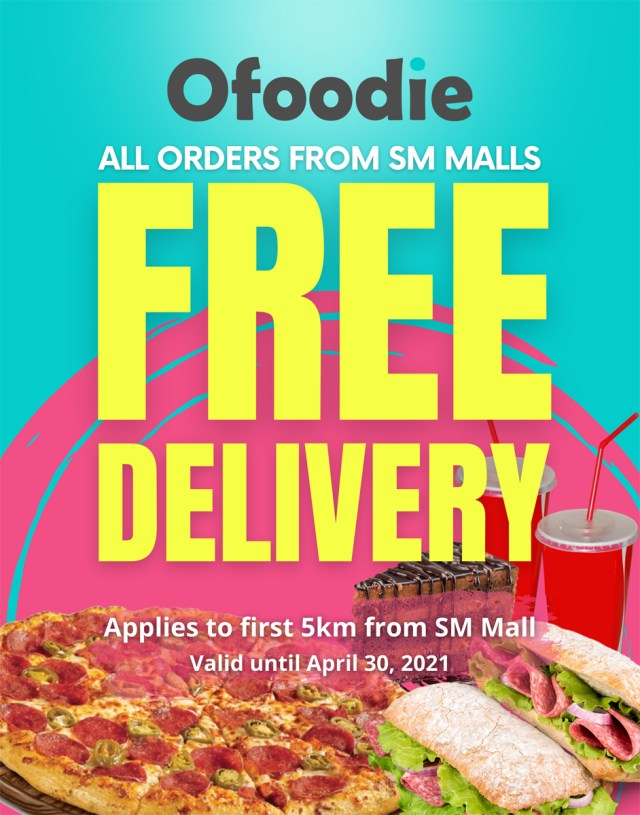 Ofoodie-Free-Delivery-Poster