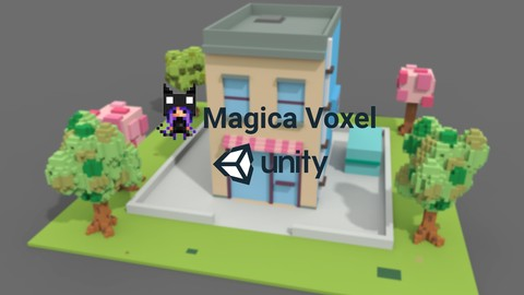 Learn Magica Voxel – Create 3D Game Models For Unity3D 100% off udemy coupons