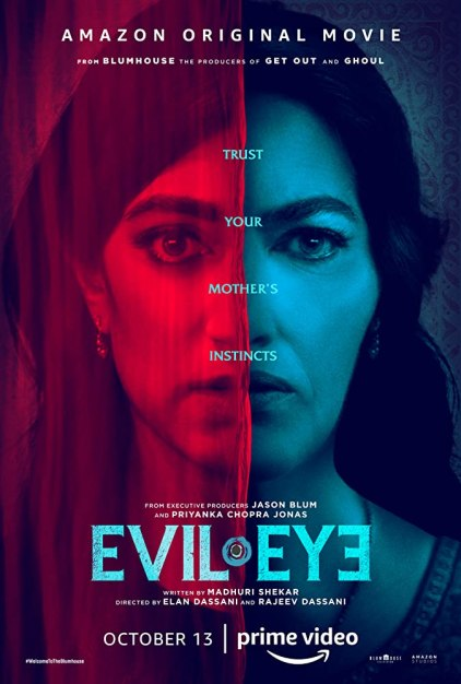 Evil Eye 2020 Hindi ORG Dual Audio 720p AMZN HDRip ESubs 700MB Download