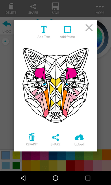 Coloring Book Android with Admob - 5