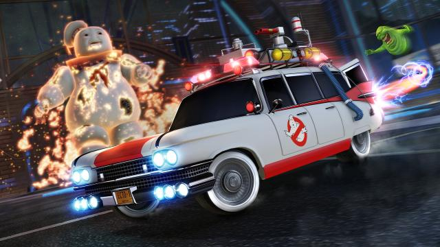 94332501408593835057 thumb - Rocket League Ghostbusters Ecto 1 Car Pack DLC-PLAZA