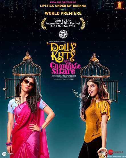 18+ Dolly Kitty Aur Woh Chamakte Sitare 2020 Hindi 720p HDRip ESubs 800MB DL