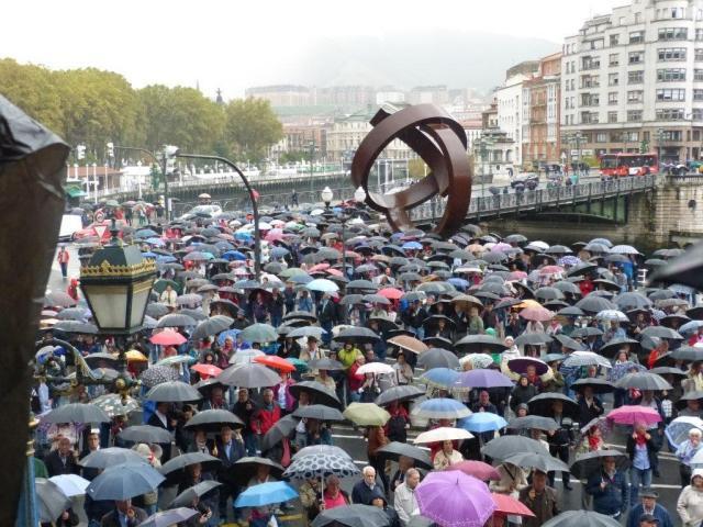 Vídeo | Tabla reivindicativa del Movimiento Pensionista de Bizkaia