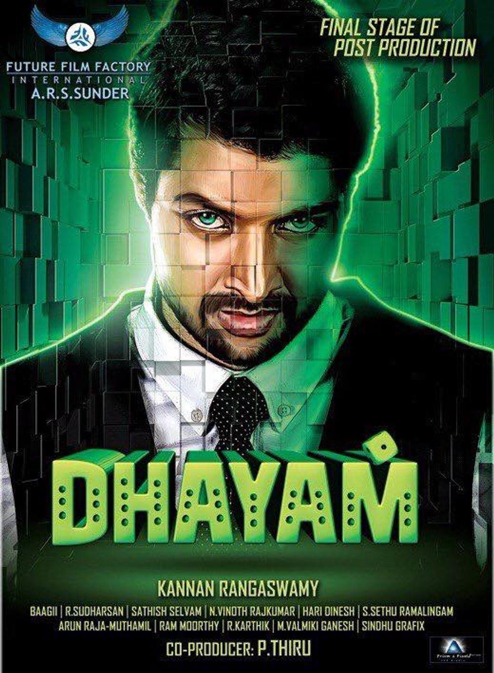 Dhum (Dhayam) 2020 Hindi Dubbed 720p HDRip 700MB Download