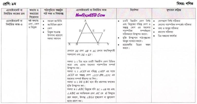 Class-9-Math-11th-Week-Assignment-2021