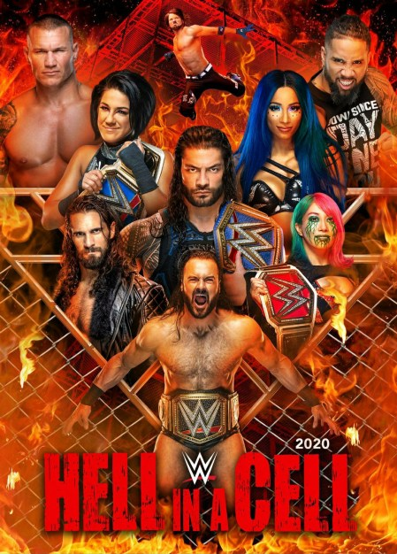 WWE Hell In A Cell 2020 English Kickoff PPV 720p HDRip 1.2GB