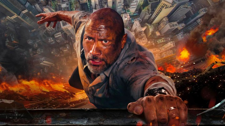 Skyscraper: The Rock è il vero super-uomo?