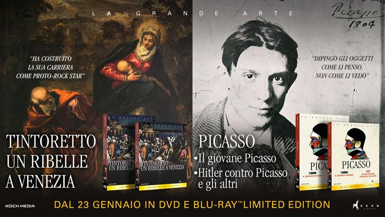 Koch Media porta in home video Tintoretto e Picasso
