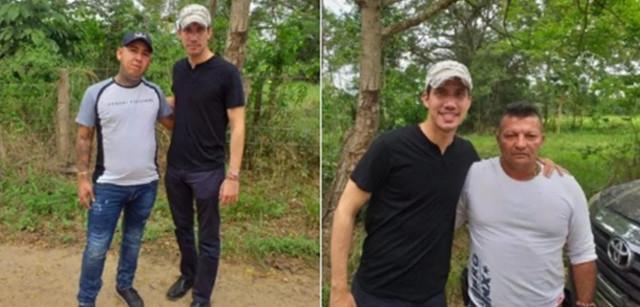 Filtran fotos de Guaidó posando con narcoparamilitares en la frontera colombo-venezolana