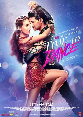 Time to Dance (2021) Hindi Movie 720p NF HDRip x264 ESub 1.1GB | 450MB Download