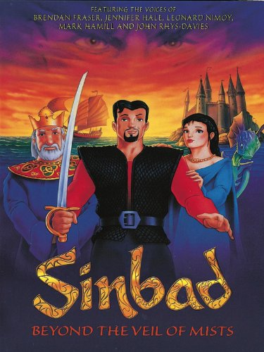 Sinbad: Beyond the Veil of Mists 2000 Hindi Dual Audio 720p HDRip ESub 900MB | 300MB Download