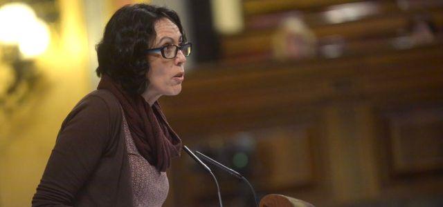 Eva García Sempere reprocha al PSOE elegir la eutanasia como su primera iniciativa sin saber si se podrá tramitar