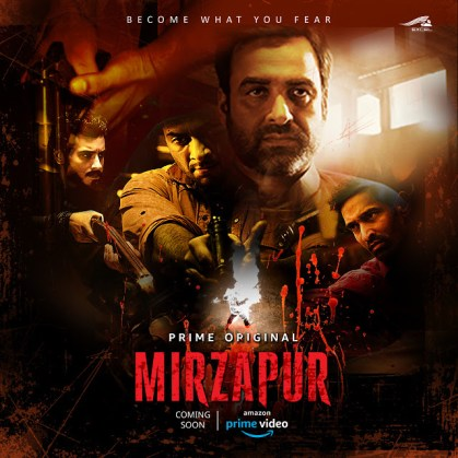 Mirzapur 2020 S02 Hindi Amazon Prime Original Complete Web Series 720p HDRip 2GB