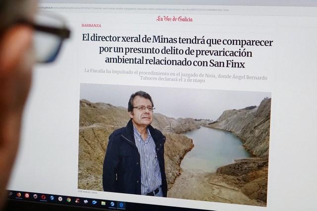 Rechazo unánime en el Parlamento gallego a la «minería sostenible» defendida por el PP en el Monte Neme