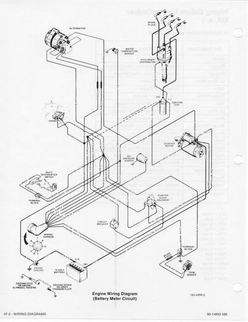 mercruiser wiring schematic  97 jeep cherokee laredo bcm