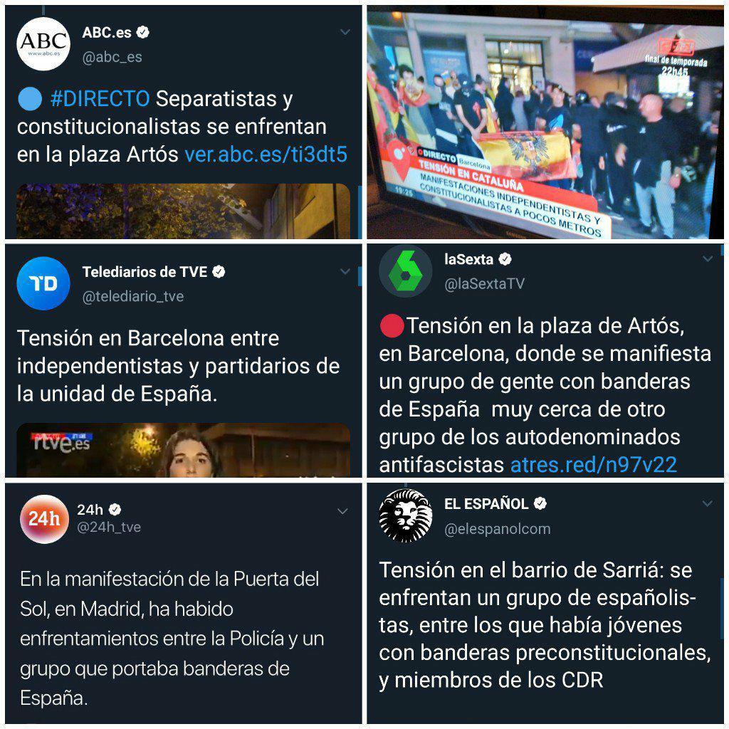El blanqueamiento de la extrema derecha en los medios: Catalunya como excusa