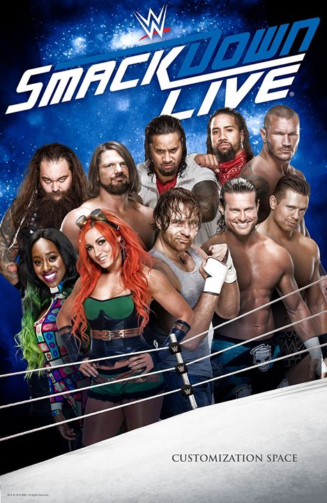 WWE Friday Night Smackdown (16 October 2020) English 720p HDRip 600MB