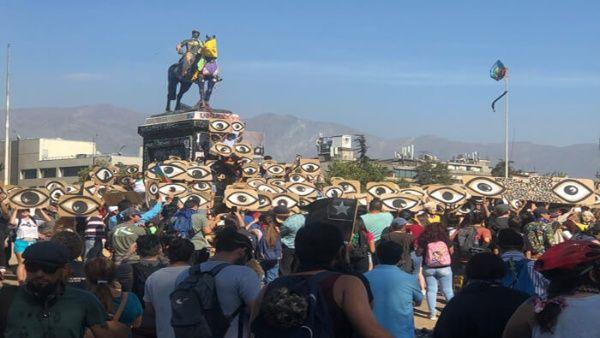 Vídeo   Marcha por los ojos de Chile: 352 personas perdieron la visión parcial o total por represión policial