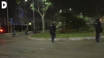 Vídeo | Un Mosso celebra con un «¡Toma hijo de puta!» el impacto de una bala de goma a un manifestante