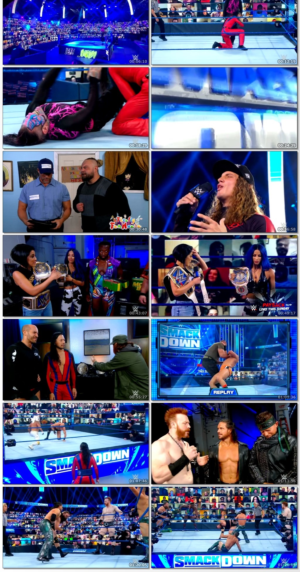 WWE Friday Night Smackdown (28 Aug 2020) Full Show 720p HDRip 1.4GB | 300MB Watch Online