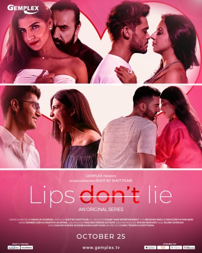 Lips Don't Lie 2020 S01 Hindi Complete Gemplex Original Web Series 720p HDRip 900MB | 400MB Download