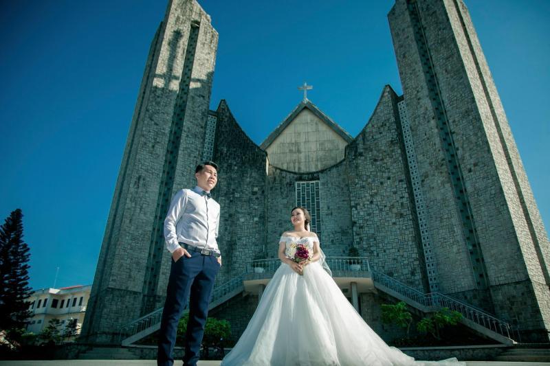 studio chụp ảnh cưới ở Huế