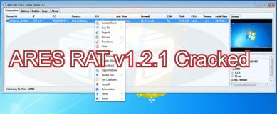 ARES RAT v1.2.1 Cracked