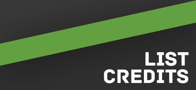 HTML-LIST-credits