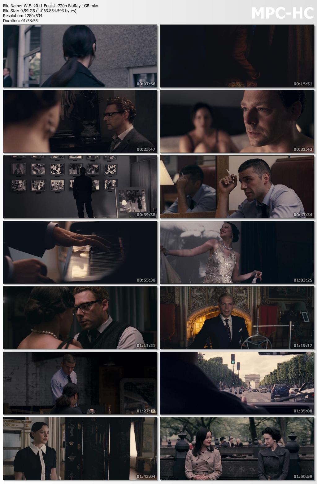 W.E. 2011 English 720p BluRay 1GB