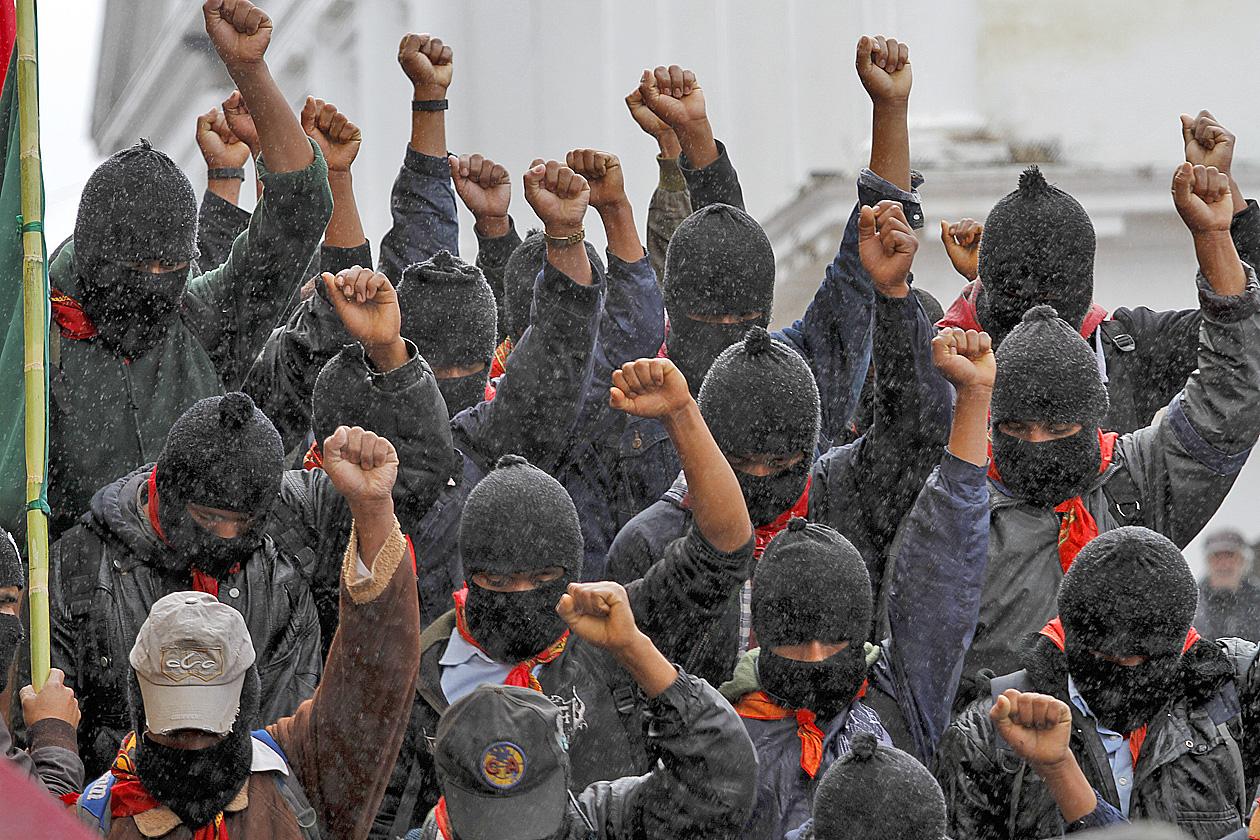 El movimiento zapatista y Chiapas, 25 años después