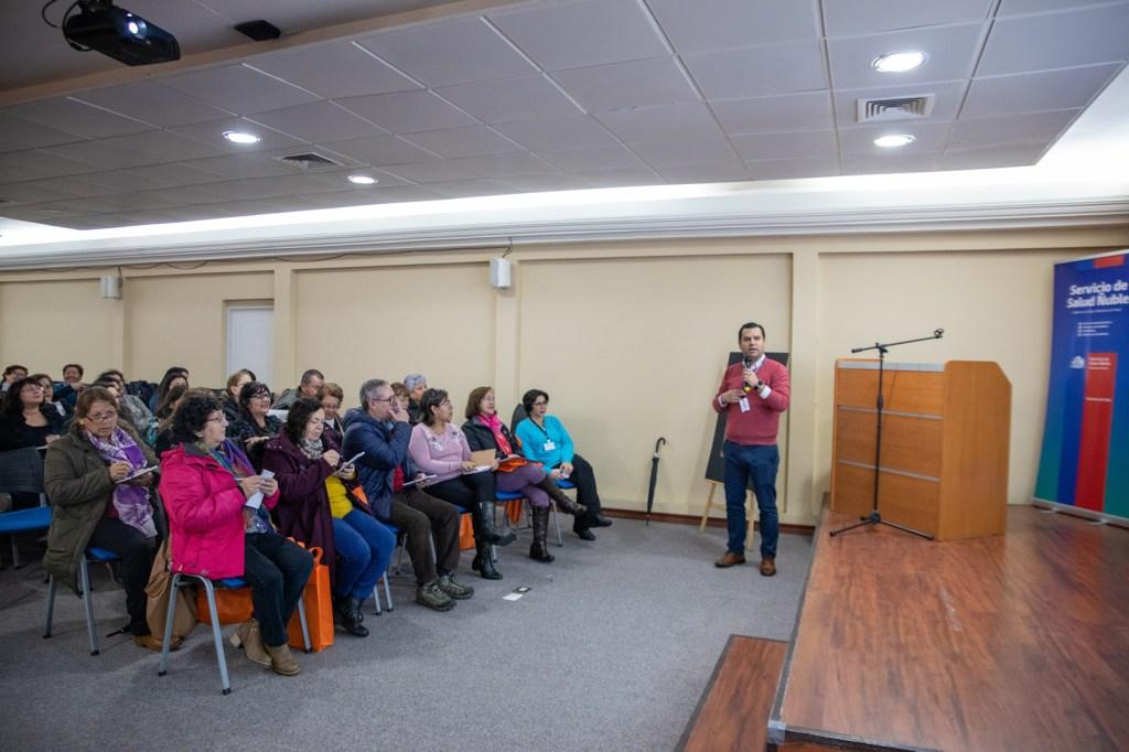 Dirigentes sociales de la red asistencial participaron en el primer Seminario de Prevención de Enfermedades de Transmisión Sexual y VIH.