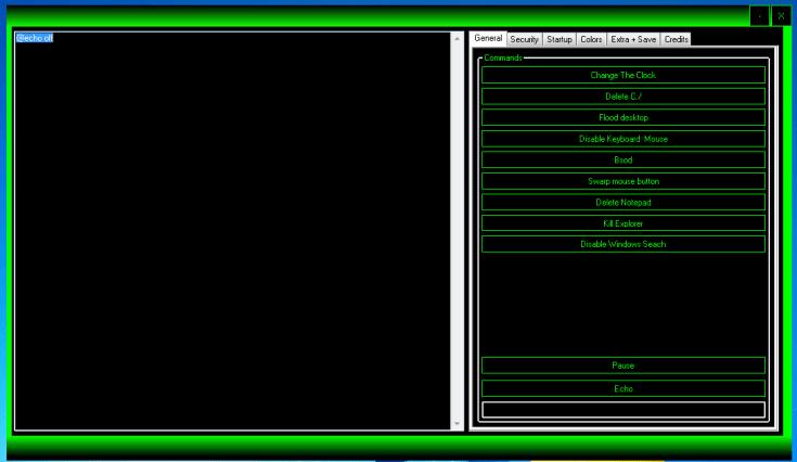 THs Batch Virus Maker V2.0