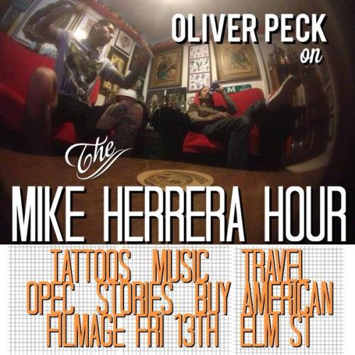 Mike Herrera Hour Oliver Peck
