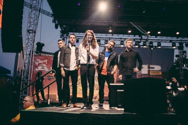 Mayday Parade introducing All Time Low
