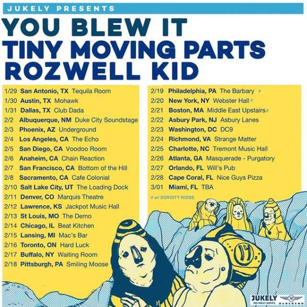 you blew it tour