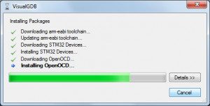 VisualGDB náhled pro download