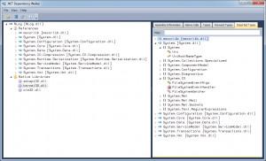 .NET Dependency Walker náhled pro download