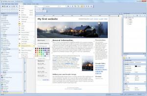WYSIWYG Web Builder náhled pro download