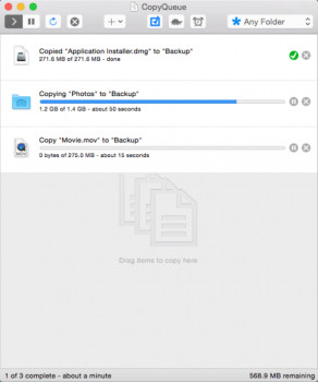 CopyQueue náhled pro download