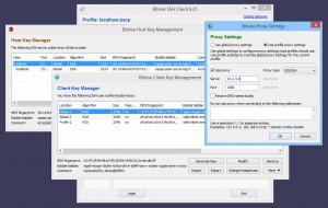 Bitvise SSH Client náhled pro download