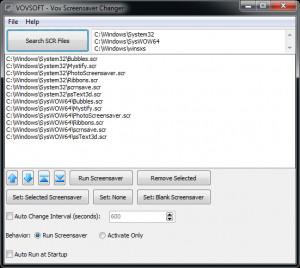 Vov Screensaver Changer náhled pro download