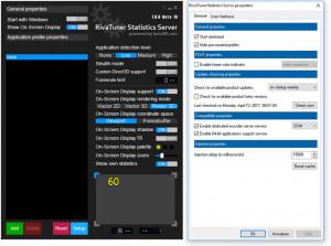 Rivatuner Statistics Server náhled pro download
