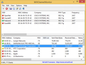 WifiChannelMonitor náhled pro download