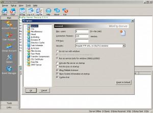 Wing FTP Server náhled pro download