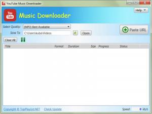 YouTube Music Downloader náhled pro download