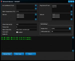 Network Alarmer náhled pro download