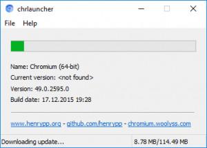chrlauncher náhled pro download