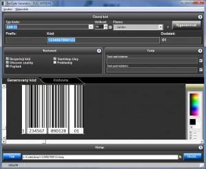 BarCode Generator náhled pro download